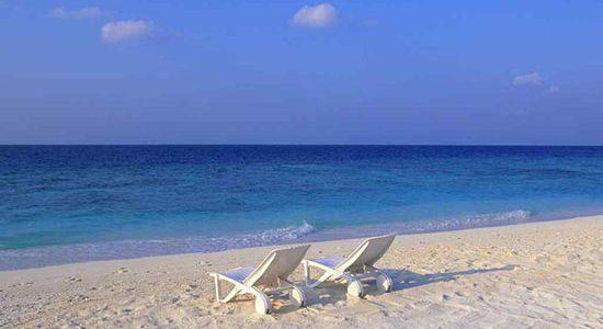 Пляж в Счастливцево фото
