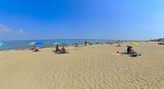 Фото пляжа в Счастливцево - Азовское море