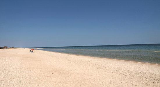 Фото пляжа в Кирилловке