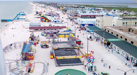 Фото пляжа Кириллвоки с высоты
