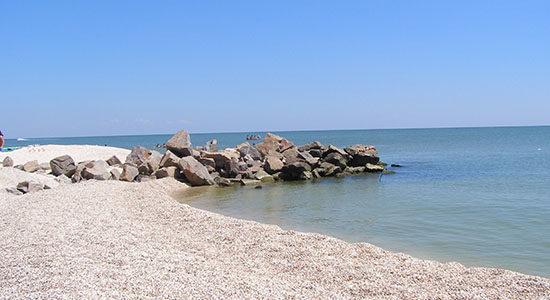 Фото дикого пляжа в Кирилловки