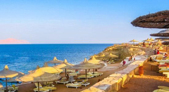 Пляж в Шарме
