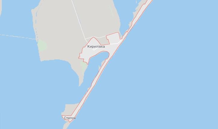 Кирилловка, Азовское море